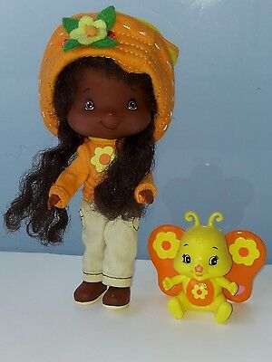 Emily Erdbeer Orangella Obstblüte Schmetterling 2002 Bandai Strawberry Shortcake