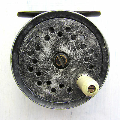 """C. Farlow & Co. """"Grenaby"""" 3ins. Contracted Drum Fly Reel c. 1939"""