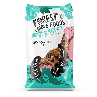 Organic Walnuts Halves - Forest Whole Foods