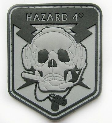 Hazard 4 Operator Skull 3D Pvc Rubber Army Morale Tactical Patch #41
