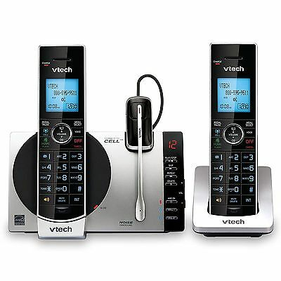 VTech - DS6771-3 DECT 6.0 Expandable Cordless Phone System with Digital Answer