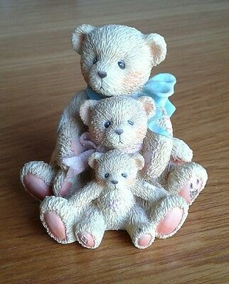 """Cherished Teddies - Theadore, Samantha & Tyler """"Friends Come In All Sizes"""""""