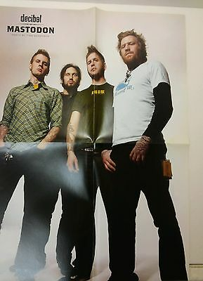 "Mastodon / Pelican Autumn into Summer 2 sided 14"" x 20"" Poster Decibel"
