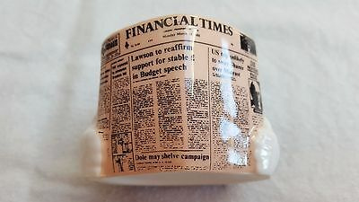 Fun And Unusual And Rare Financial Times Egg Cup