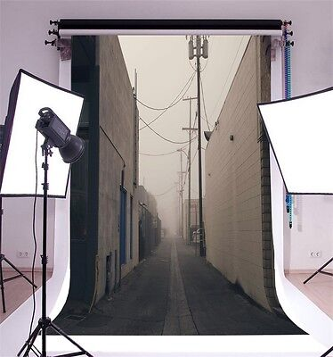 5x7ft Vinyl Photography Wall Backdrop Town Viewing Studio Photo Background Props