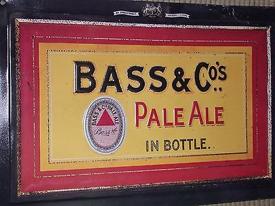 Bass Pale Ale LAGER BEER  PUB BAR VINTAGE RETRO  METAL TIN SIGN WALL
