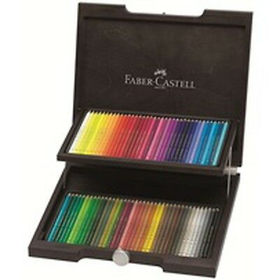 Faber Castell Polychromos Wooden Box 72