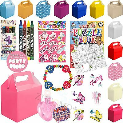 Childrens Personalised Wedding Activity Pack Favour Gift Party Bag / Kids