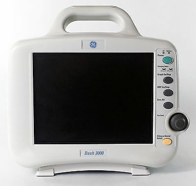 GE Dash 3000  Color Patient Monitor 30 Day Warranty