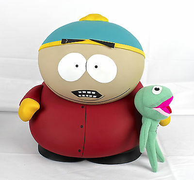 "Deluxe Cartman 11""+ Clyde Frog Mezco 2006 SDCC Limited RARE OPEN South Park"