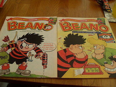 The Beano Comic 2 Issues No 3019 /3020