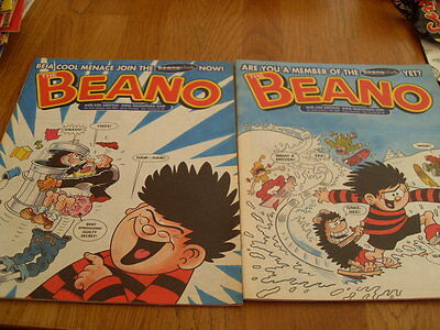 The Beano Comic 2 Issues No 3156 / 3157 2003