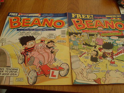 The Beano Comic 2 Issues No 3163 /3164 2003