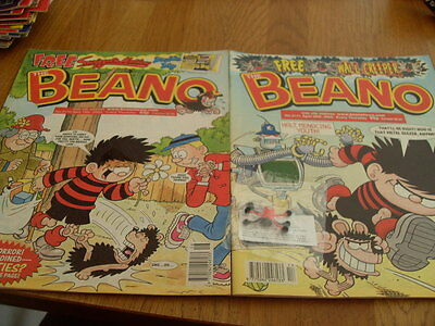 The Beano Comic 2 Issues No 3170 / 3171 + Gift