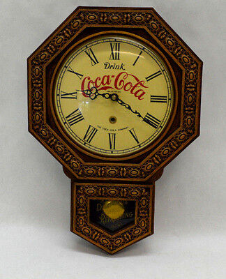 1979 Coca Cola Electric Regulator Style Wall Clock