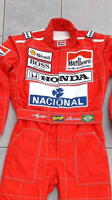 F1 Racing Ayrton Senna 1991 printed suit