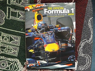 The Official Formula 1 Season Review 2010 - Hb Dj Book - F1