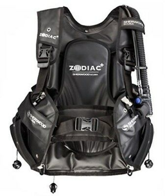 Sherwood Zodiac+ Rugged Water Resistant Weight Integrated Scuba Diving Bcd Med
