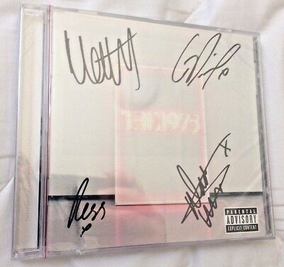 THE 1975 Autographed i like it when you sleep CD Album! SIGNED by 4! NEW!