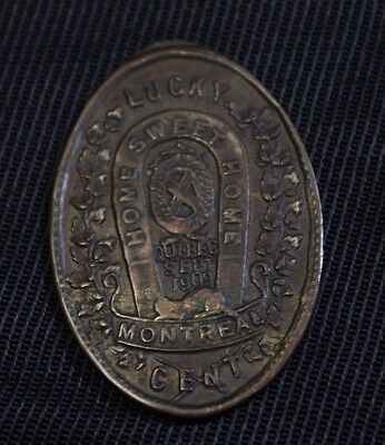 Canada 1909 Lucky home sweet home token Montreal Cent