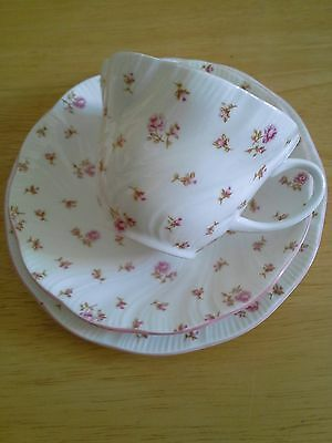Queens fleur trio plate cup and saucer