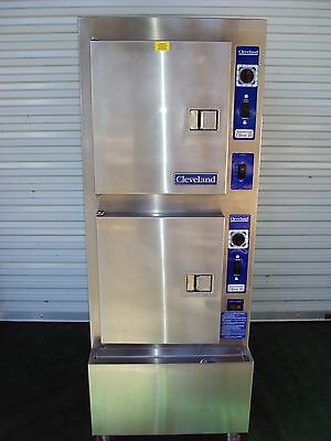 """Cleveland 24Cga10 Gas Convection Steamer  With H20 Filter System """"nice"""""""