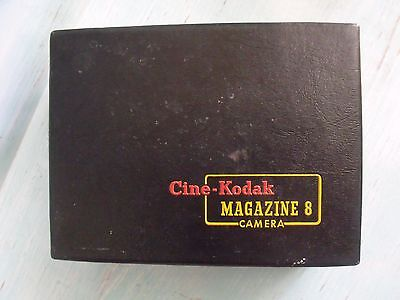 Cine Kodak Magazine 8MM  Vintage Movie camera