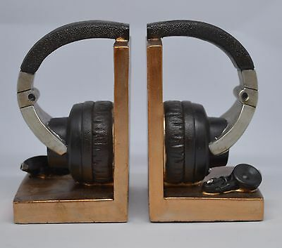 Brand New Headset Design bookends 7 x 4 x 5.5 inch
