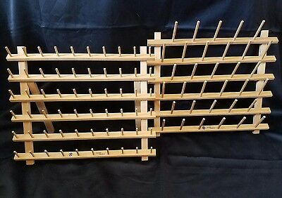 June Tailor 60 Spool Cone Rack Folding And 33 Spool Hanging Cone Rack