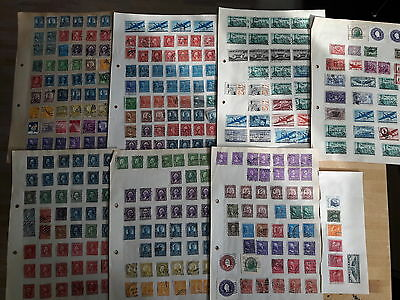 Old stamp collection USA
