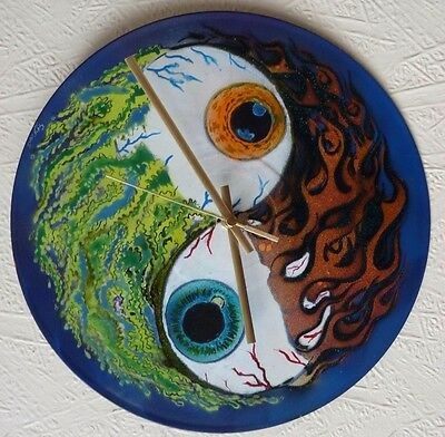 PEARL JAM inspired record wall CLOCK,,.POP ART