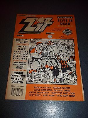 Zit #1, 1991, Like Viz, Smut, Adult Humour, See Others & Combine Postage