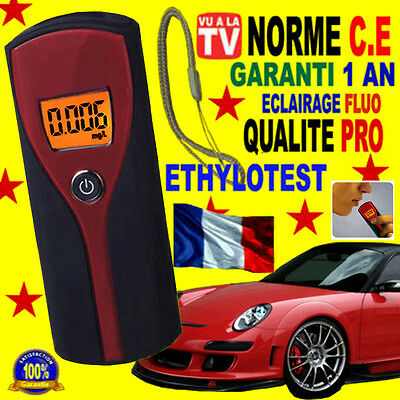 Ethylotest Digital Haute Precision Norme C.e Alcootest Alcotest Breathalyzer