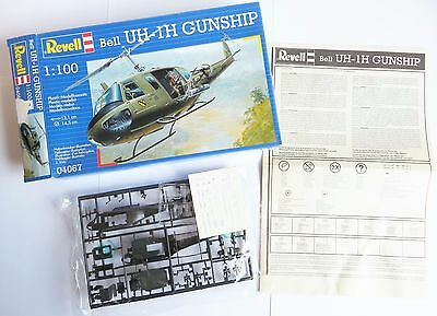 Revell Bausatz 04067 1:100 Bell UH-1H Helikopter OVP helicopter