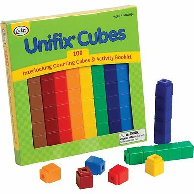 NEW  - Unifix Cubes - Didax - FREE SHIPPING