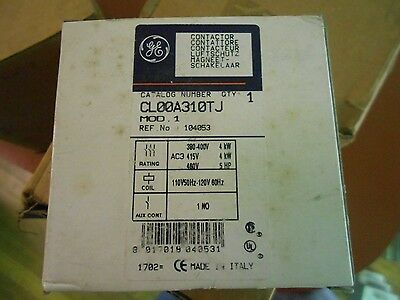 Ge Cl00A310Tj Magnetic Contactor, 6110-01-481-5168