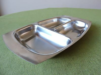 Old Hall Stainless Steel Vegetable Dish designed by Robert Welch.