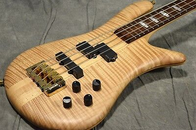 Spector Euro4 LX Natural Electric Bass Guitar Free shipping