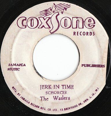 "Rocksteady 45 Ja Coxsone Label The Wailers "" Jerk In Time "" Killer ♫"