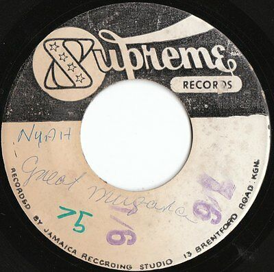 "Rare Ska 45 Ja Supreme Label The Wailers "" Jailhouse "" Very Rare Studio One ♫"