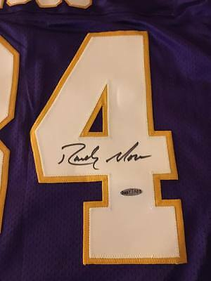 RARE SIGNED Randy Moss Authentic Puma Minnesota Vikings Jersey! w/ UDA COA!