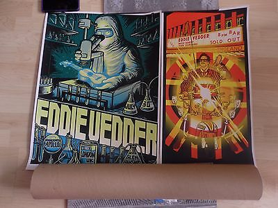 Eddie Vedder Posters London Hammersmith Apollo
