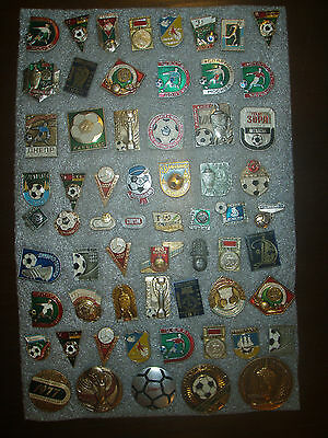 53  Badges USSR (Russia)  Football football clubs      different № 81