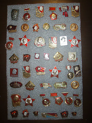 47 Badges USSR (Russia) Lenin different № 37