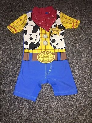 Boys Disney Toy Story Woody Swimsuit 9-12 Months
