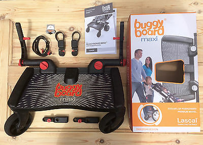 Lascal Buggy Board Maxi boxed with connectors /buggyboard