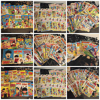HUGE collection Of BEANO comics, Annuals And Special Editions (some extras too)