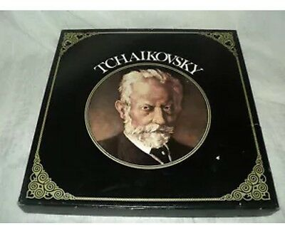 Tchaikovsky's Concert Hall Vinyl Record Box Of 6 With Original Box