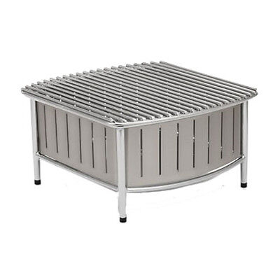 "Vollrath 4667480 16"" Contoured Small Buffet Station With Wire Grill (Natural)"