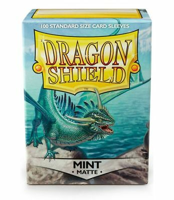 Dragon Shield Matte Mint 100 protective Sleeves Hüllen Standard Kartenhhülle